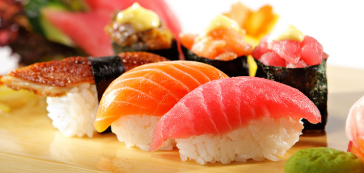 разные суши