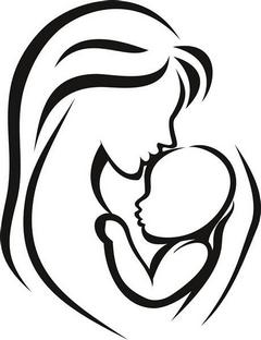Аватар мамы с ребенком