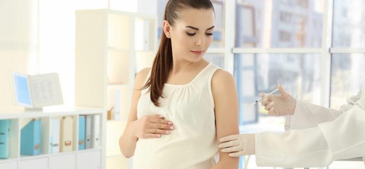 прививка беременной