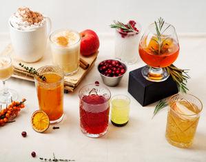 разные напитки