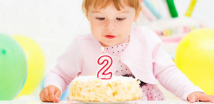 день рождения у девочки 2 года