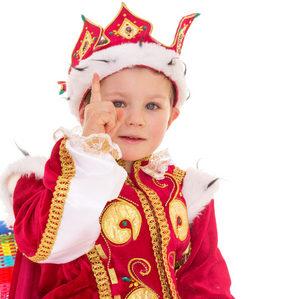 Мальчик в царской одежде