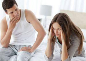Муж с женой в отчаинии