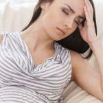 Беременная женщина устала