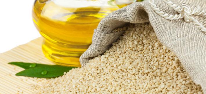 семена кунжута и масло