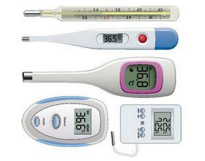 Виды термометров