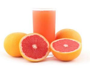 Грейпфрут и сок