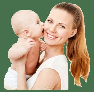 "Обложка курса ""Счастливое материнство: методика мягкого ухода за младенцем"""