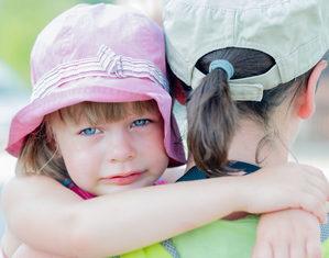 Ребёнок плачет в детском саду