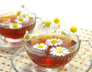 Ромашка и чай