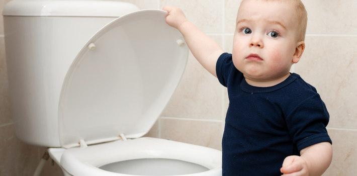 Как сделать чтоб ребенок пописал