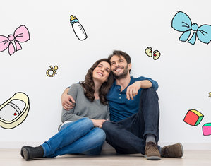 Муж с женой мечтают о ребенке