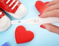 Тест на беременность пинетки и сердце