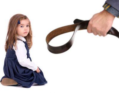 ребенок и ремень