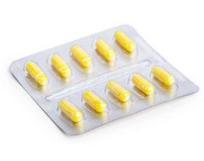 желтые капсулы