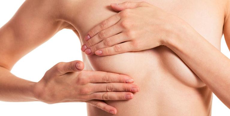 массаж груди руками