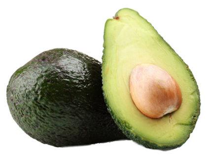 авокадо свежий разрезанный
