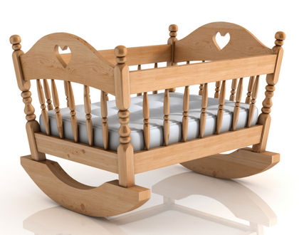 детская кроватка колыбель