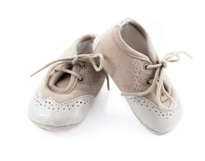 детская обувь бежевая