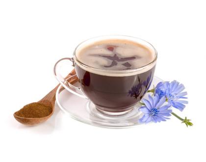 напиток из цикория с цветами