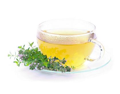 чай из чабреца с цветками
