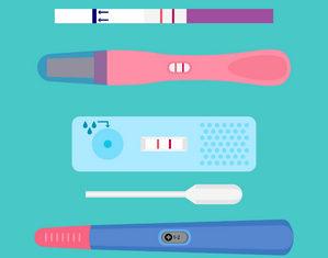 разные тесты на беременность