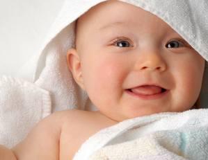 улыбка новорожденного