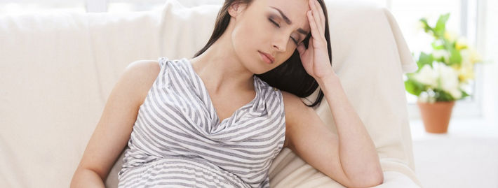 Беременная устала