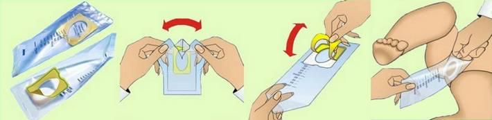 Как заставить грудничка пописать для анализов