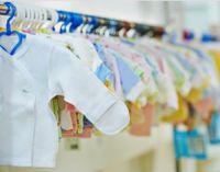 Одежда для новорожденных в магазине