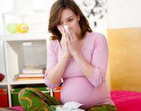 Беременная простужена