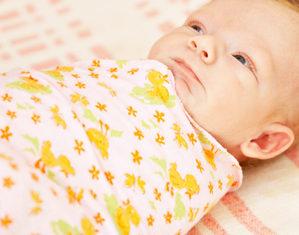 новорожденный в пеленке