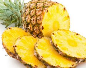 Нарезанный ананас