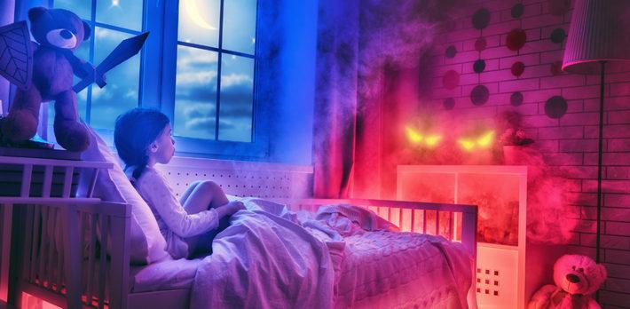 ночные страхи девочки